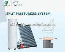 Split Pressure Heat Pipe Solar Water System with Controller SR868C8