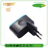 Power adapter new business ideas Black Travel New arrival own tooling dual USB 5V 1A EU plug