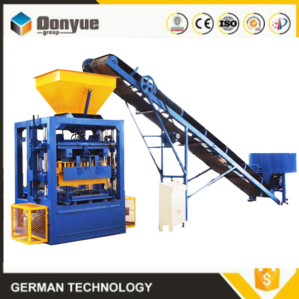 block brick making machine qt4-24 4 6 8 inches hollow block size in philippines