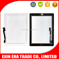 2015 Original new full glass for ipad 3 touch screen digitizer assembly, wholsale factory price