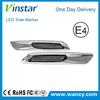 Vinstar fashion designed indicator and running light function clear side marker for toyota with e-mark approved