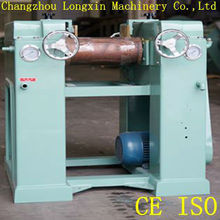 Longxin 3 roller mill for soap making plant