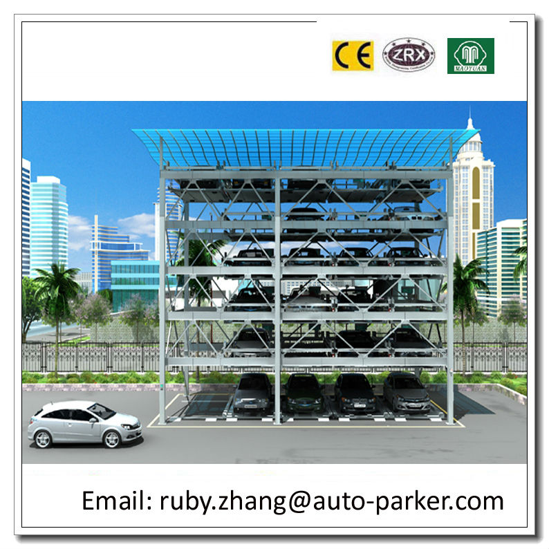 Smart Car Parking System Elevated Car Parking 3d Puzzle system