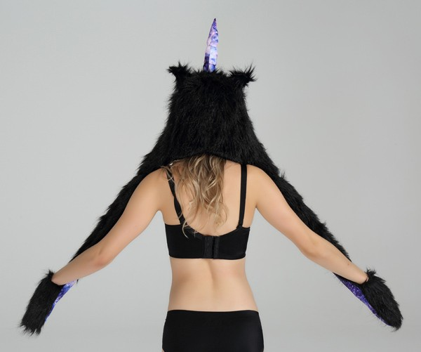Custom Winter Unicorn Sexy Ladies Women Funny Adult Animal Hat