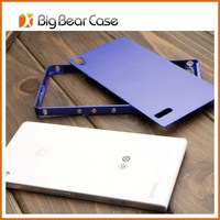 hard case protective case for huawei ascend p6 metal bumper case