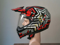 New stylish visor motorcycle helmet with high safety