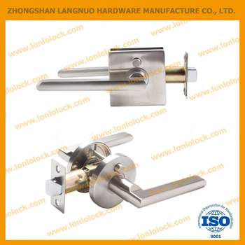 USA &Canada modern bathroom privacy lever lockset