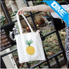 Custom Women Print Promotional Bulk 100% Cotton Canvas Tote Bag Wholesale