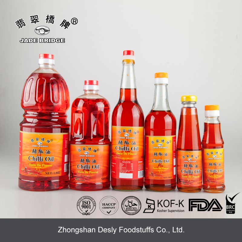 Delicious capsicum oil chilli oil 625ml