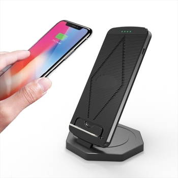 New Arrival Technology QI Faster Wireless Charger Desktop Charging Stand