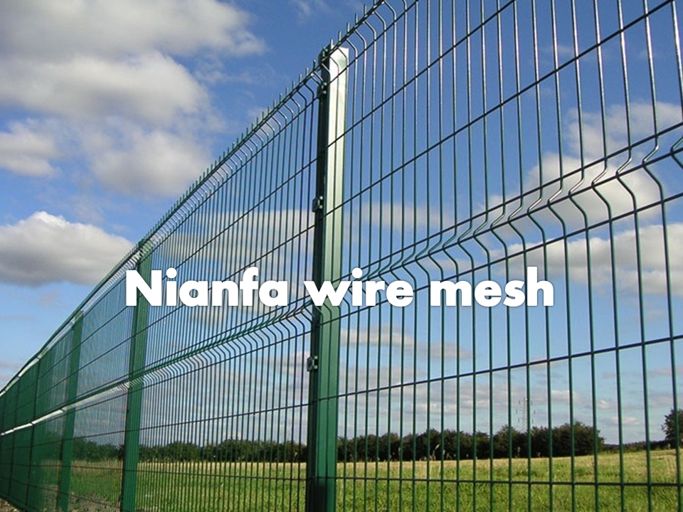Guangzhou factory residential security wire mesh fence