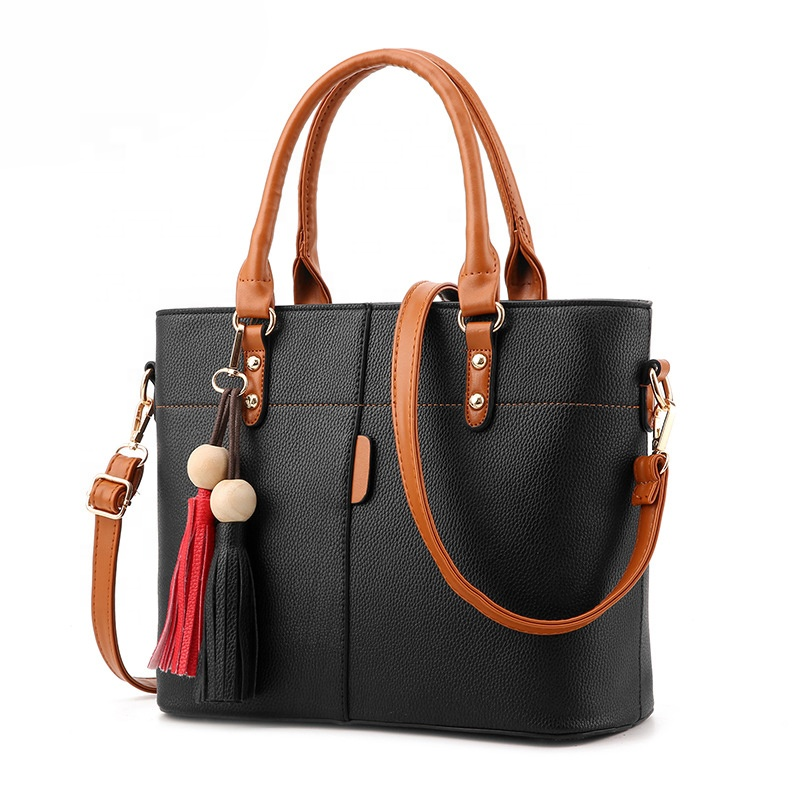 New style European and American fashionable handbag large capacity lady hand bag <strong>shoulder</strong>