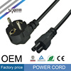 SIPU high quality made in China standard EU plug power supply cable european power extension cord for laptop