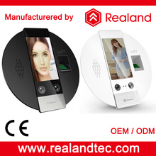 Realand G705F 4.3 inch TFT bioimetric solutions face recognition rfid attendance system