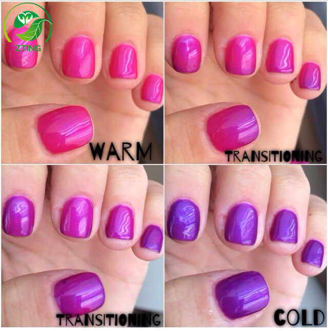 Queen Gel Nail Polish: Top Quality Uv Gel Polish Queen's Temperature Change Color