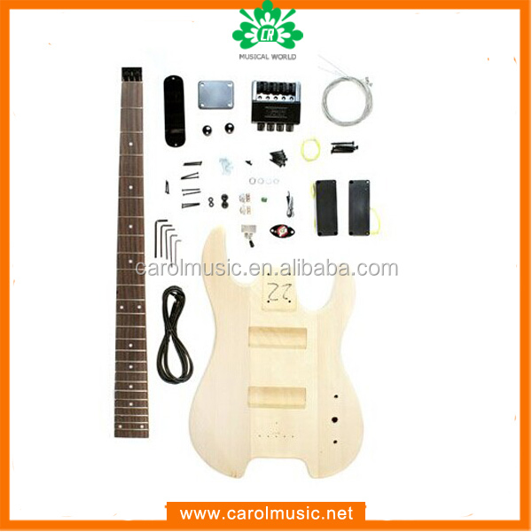 BK 022 Unfinished wooden bass Adult diy kits