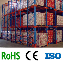 CE guarantee adjustable Storage Drive-in Pallet Racking / Warehouse Racking Systems