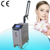 2014 Latest technology q switched nd yag laser hair and tattoo removal machine