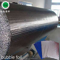 Aluminum foil bubble roof heat insulation materials reflective air bubble remover