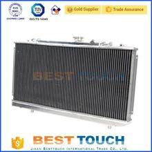 Landcruiser 80 Series HZJ80 HDJ80 1990-1998 MT all aluminum custom radiator for LAND CRUISER for truck