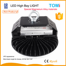 high performance 100w ip65 led high bay lighting LG chip and meanwell driver special magnesium alloy housing 5 years warranty