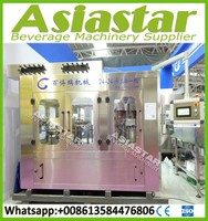 Fully automatic liquid filling packing packaging machine