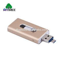 bulk wood usb flash drives 8GB custom logo 128gb otg usb 3.0 flash drive 3 in 1 for iphone