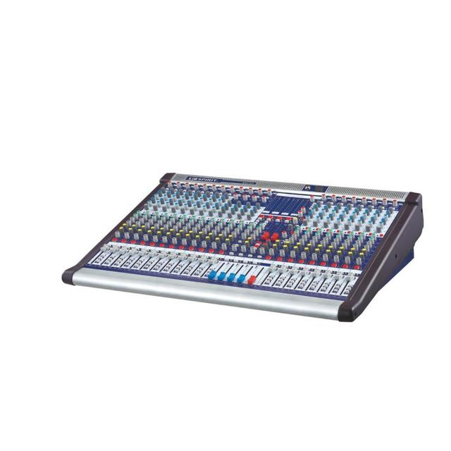 32 channel professional sound equipment audio dj music recording mixer KING-432 with 4 grouping output 4 monitor output 4 AUX