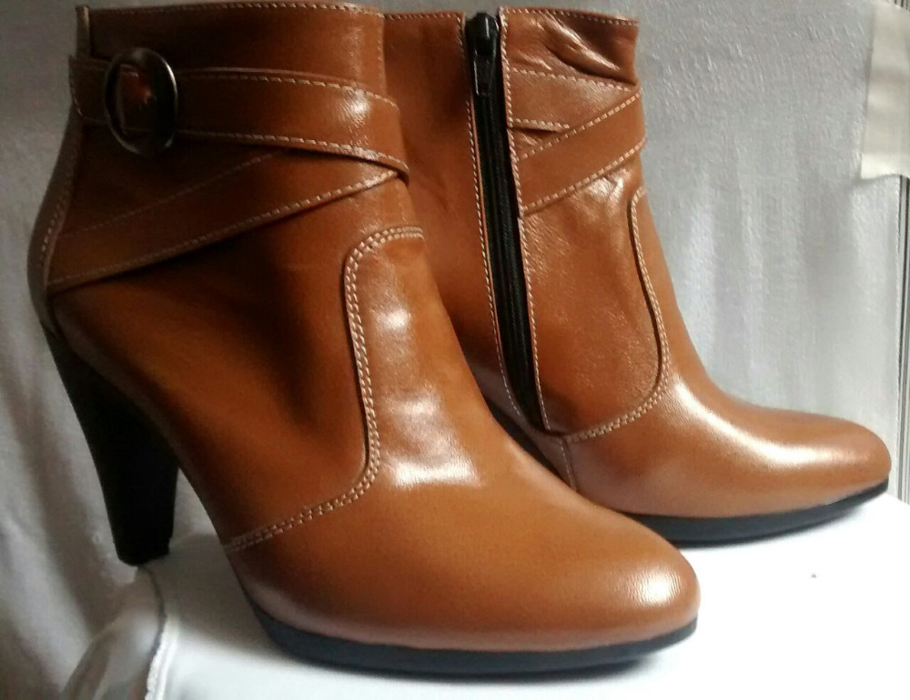 Stylish Women Shoes for Work and Home - Genuine Leather - 2015 Design
