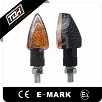 TDH High Performance Moto Spare Parts Motorcycle Bulb Warning Lights with E-mark Approved