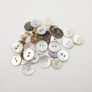 fashion good quality real natural agoya shell button 2 holes