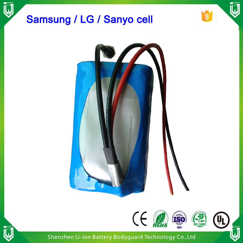 Low Price Custom recharging 18650 14.8v 18Ah sansung li-ion battery pack