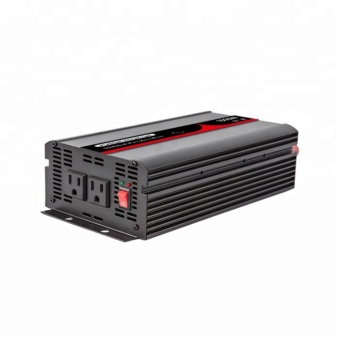 High Quality 24VDC to 240VAC 50Hz Australian Socket <strong>1000W</strong> Pure <strong>Sine</strong> <strong>Wave</strong> Solar Power Inverter