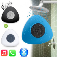 new stylish stereo waterproof bluetooth speaker,suction cup waterproof bluetooth speaker
