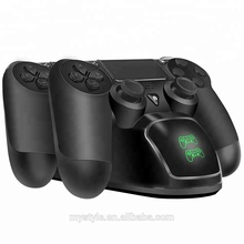 High Quality Dual Charger Station Charging Dock for Playstation 4 PS4 Wireless Controller