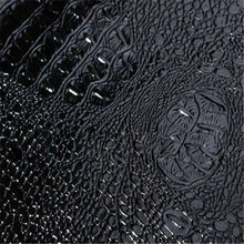 Crocodile texture faux leather for chair covers