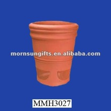 Wholesale rare rustic terracotta flower pot