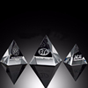 Factory Supply Blank Crystal Glass Pyramid