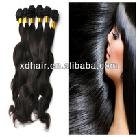 Wholesale tangle free Grade AAAAA quality elastic band hair extensions