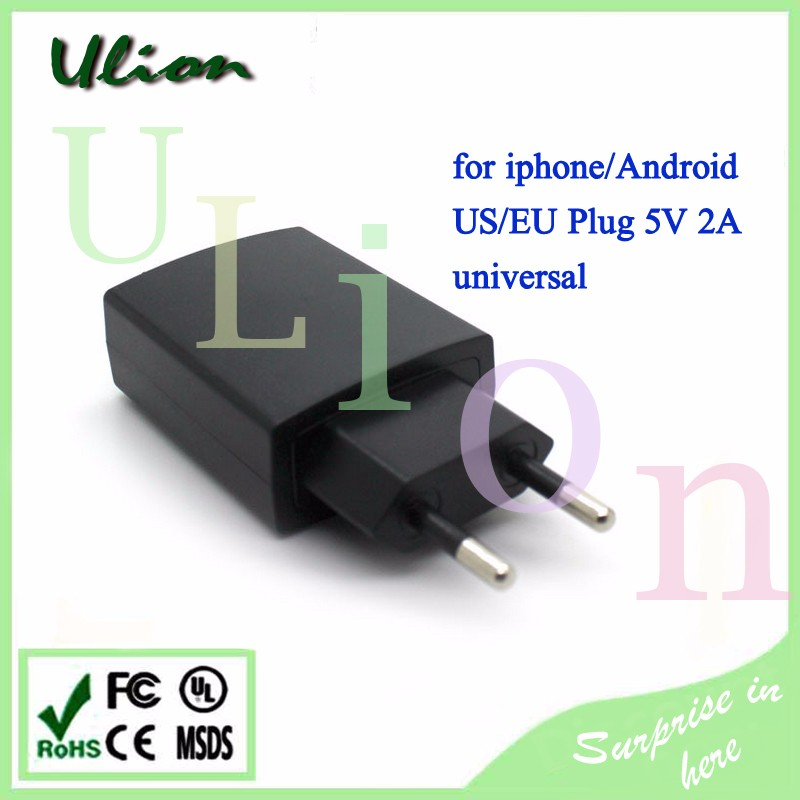 5V 2.1A EU/US Plug USB Wall AC Power Adapter Home Charger Travel Charger For iphone 6S Wall Charger AC Adapter