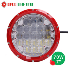New products 7 inch 70w motorcycle led driving lights