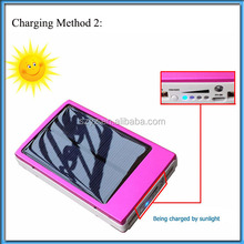 CE,FCC,ROHS private model 30000mah portable charger waterproof solar power bank