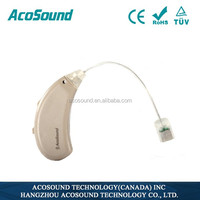 AcoSound Acomate 220 RIC Open-Fit medical device feedback supression technology