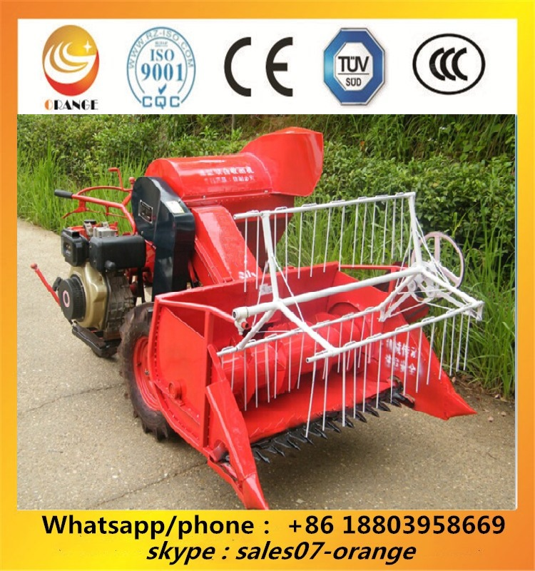 Good quality paddy rice combine harvester machine with cheap price in India