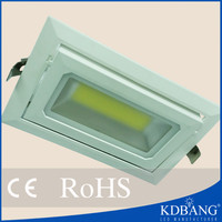 Hot sell square 40w led downlight housing