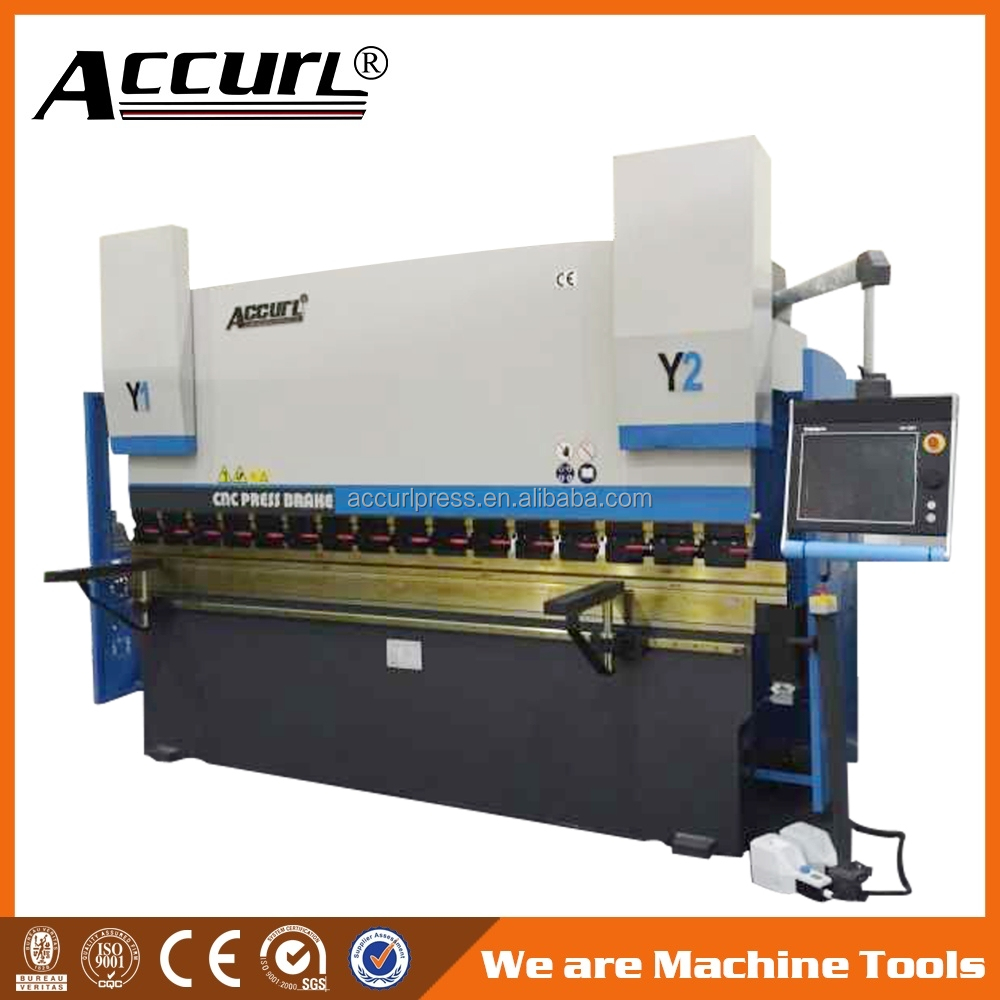Alibaba Best Manufacturers,6 +1 axis CNC Press Brake 100 tons with Y1 Y2 X <strong>R</strong> Z1 Z2 - axis Crowning with Delem DA66T System