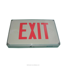 ETL listed Waterproof emergency light led exit sign