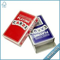 Hot selling wholesale cheap custom playing card and dice