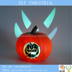 Souvenirs and kids gifts led party lighted halloween pumpkin cut out