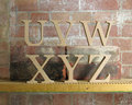 Recessed Wooden Letters Free Standing for DIY craft projects